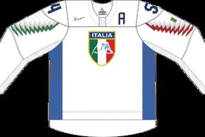 Dres Talianska určený pre zápasy, v ktorých je napísané ako domáci tím.