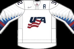 Dres Spojených štátov amerických určený pre zápasy, v ktorých sú napísané ako domáci tím.