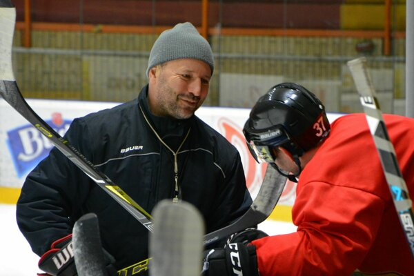 Tréner Topoľčian - Ľubomír Hurtaj.
