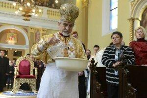 Gréckokatolícky biskup Milan Chautur.