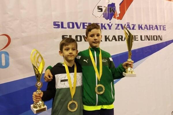 Oliver Bodnár (vľavo) a Jakub Pechota.