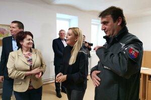 Ministerka Denisa Saková otvorila nové stredisko v Krompachoch.