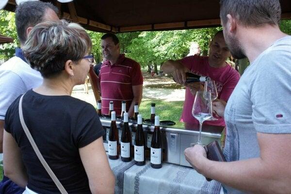 V ponuke budú vína od desiatich vinárov.