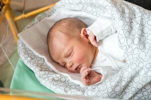 Lívia Pavlíková (3100 g, 49 cm) sa narodila 6. mája Martine a Michalovi z Veľkého Lapáša.