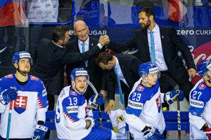 Craig Ramsay počas zápasu Slovensko - Francúzsko na MS v hokeji 2019.