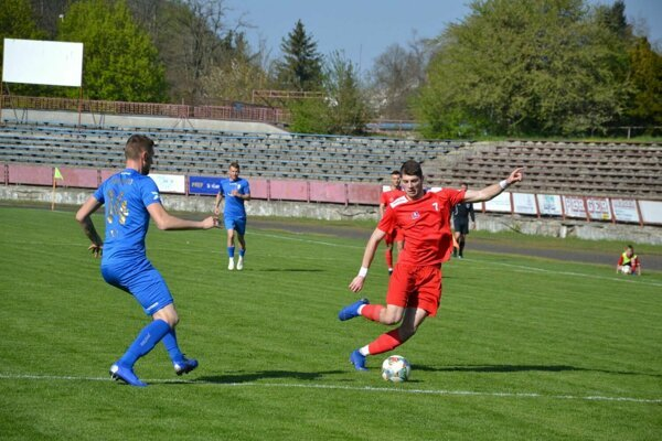 Považská Bystrica (v červenom) hostí Spartak Trnava B.