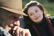 Jean-Louis Trintignant a Anouk Aimée vo filme Najkrajšie roky života.