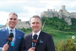 Televízny vstup si Kanaďania užili aj spod Spišského hradu.