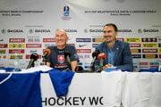 Miroslav Šatan a Craig Ramsay pred MS v hokeji 2019.