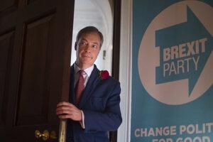 Farageova strana nepotrebuje program, má brexit.