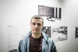 Rossa v Múzeu Slobodného Derry