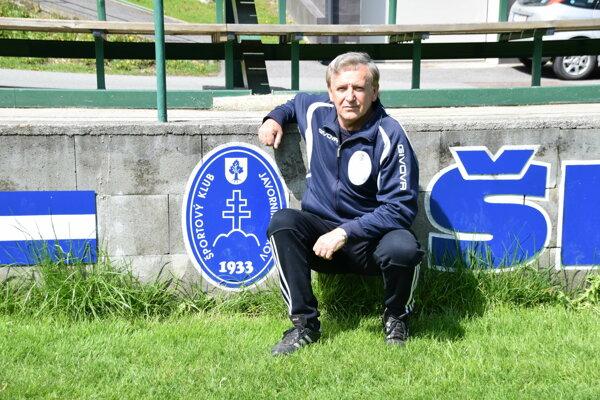 Milan Hedera je momentálne vedúcim mužstva ŠK Javorník Makov.