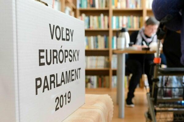 Voľby do Európskeho parlamentu 2019.