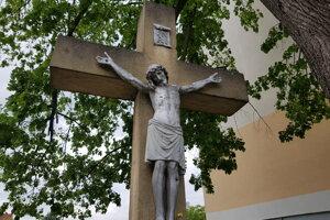 Najstarší kríž v Krupine pochádza z roku 1848.