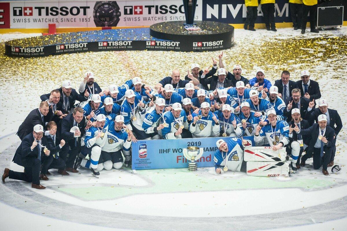 2c0930cb366ed Ohlasy médií na titul Fínska na MS v hokeji 2019 - Šport SME