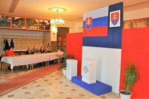 Voľby do Európskeho parlamentu v Istebnom.