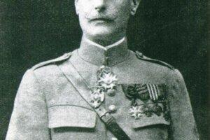 Veliteľ 6. divízie, francúzsky generál Chabord.