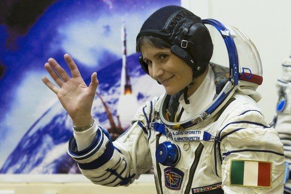 Talianska astronautka Samantha Cristoforettiová