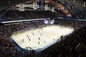 Posledné derby medzi Košicami a Slovanom vypredalo Steel Arénu, hoci išlo iba o prípravný zápas.