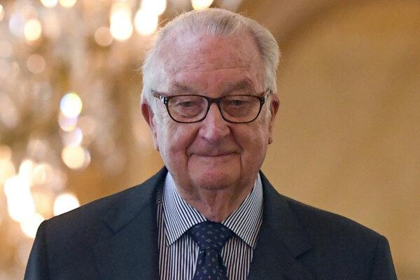 Delphine Boël vyhlásila, že Albert II. je jej otcom, počas rozhovoru v roku 2005.