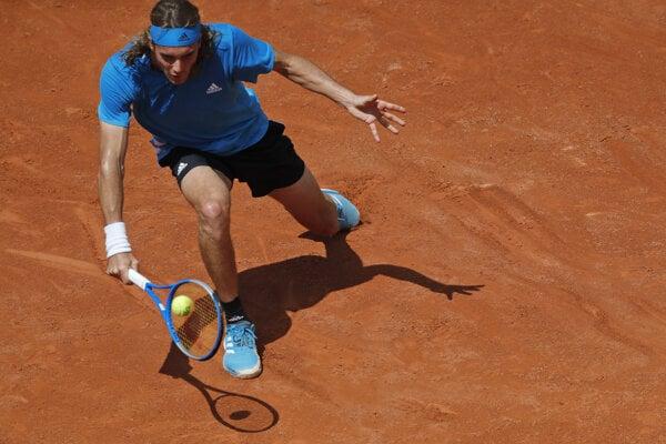 Stefanos Tsitsipas na Roland Garros.