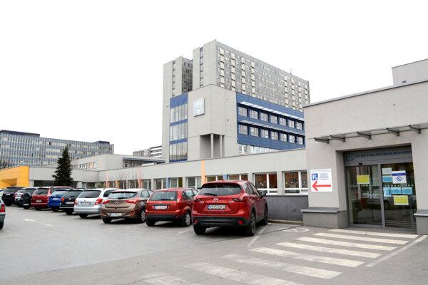 Detská fakultná nemocnica v Košiciach.
