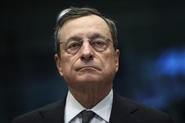 Prezident ECB Mario Draghi.