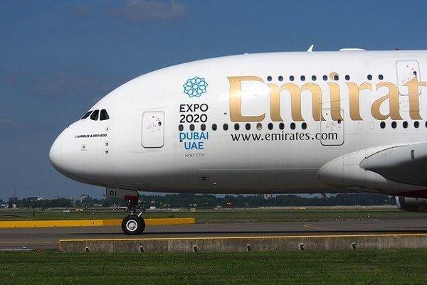 A380 spoločnosti Emirates.