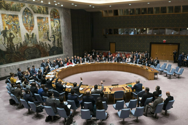 Bezpečnostná rada OSN.