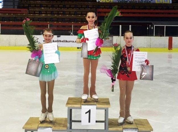 Tretie miesto vybojovala aj Patrícia El. Černíková (vpravo).