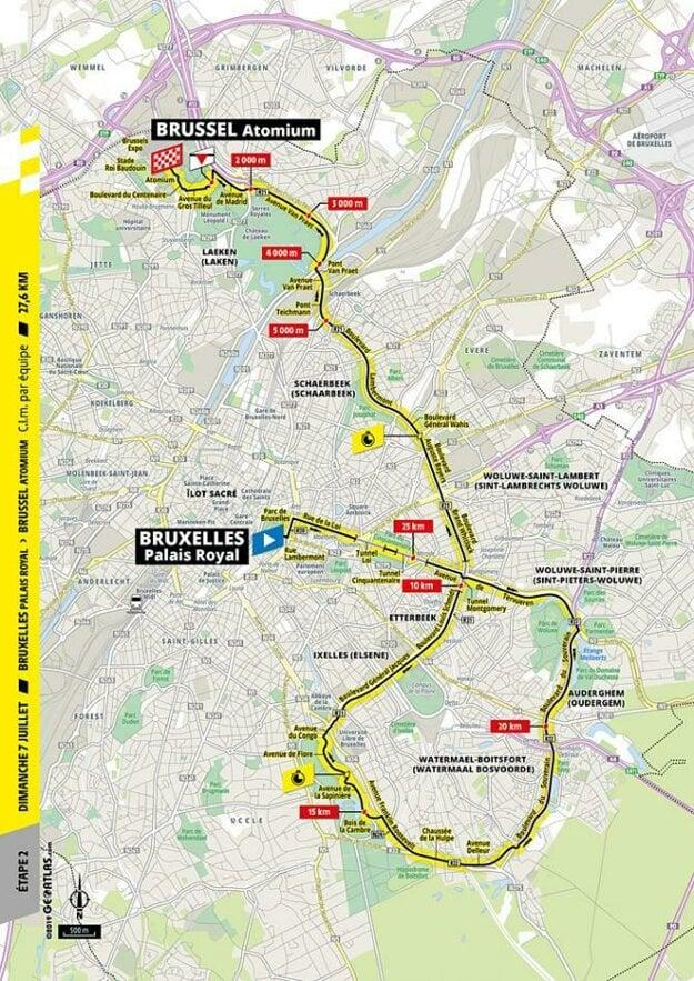 2. etapa Tour de France 2019.