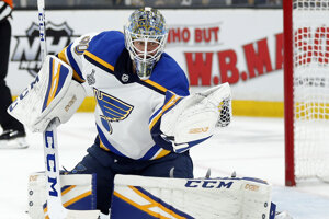 Jordan Binnington a jeho zákrok vo finálovom zápase NHL 2018/2019.