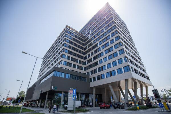 Nové sídlo Európskeho orgánu práce.