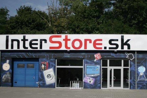 Kamenná pobočka InterStore.sk v Bratislave.