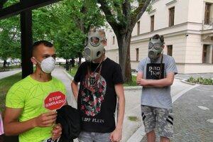 Protest v Levoči mal aj takúto podobu.