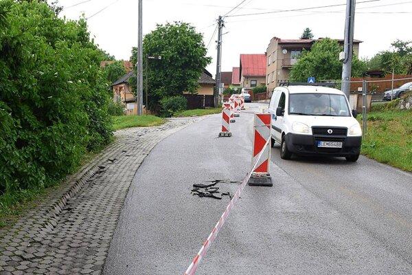 Mesto už vyčíslilo škody po nedeľnom daždi.