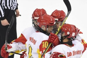 Čínski hokejisti by mali hrať v českej lige.