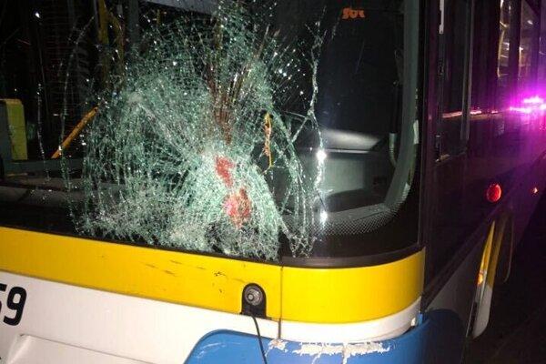 Takto dopadol autobus.