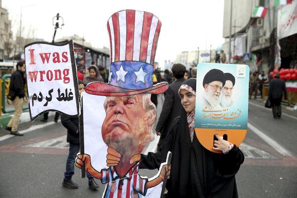 Z Američanov sa Iránci často vysmievajú.