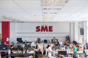 Redakcia denníka SME.
