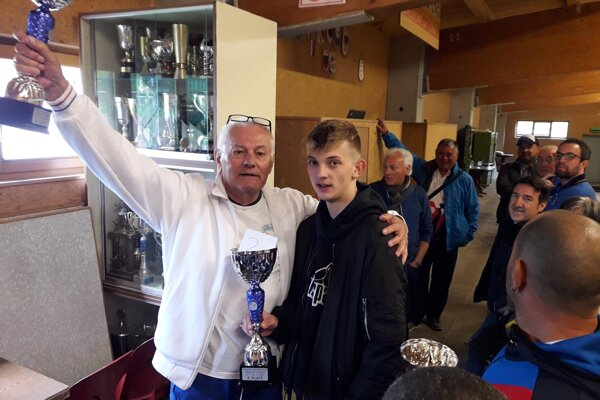 Ondrej Garaj (vľavo) a Tomáš Štolc.