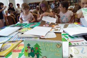 Do súťaže o naj lesný kalendár prihlásili deti 333 prác.