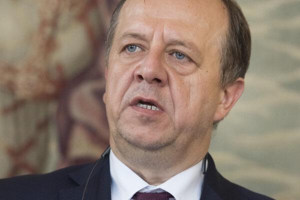 Prezident Únie miest Slovenska Richard Rybníček..