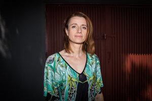 Podplukovníčka Monika Hullová z Akadémie Policajného zboru v Bratislave.