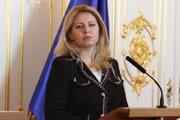 Prezidentka SR Zuzana Čaputová.