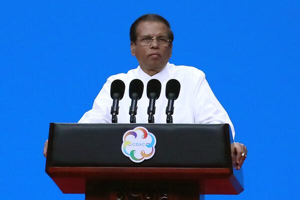 Prezident Maithripala Sirisena.