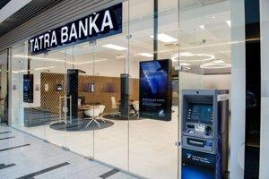 Pobočka Tatra banky v nákupnom centre Centrál v Bratislave.