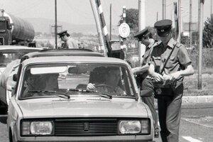 Kontroly na hraniciach boli súčasťou socialistického režimu.