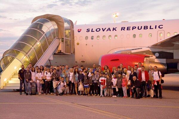 Slovenská výprava, ktorá bude reprezentovať krajinu na The World Children's Winners Games 2019 (Svetové detské hry víťazov), odletela z košického letiska vládnym špeciálom do Moskvy.