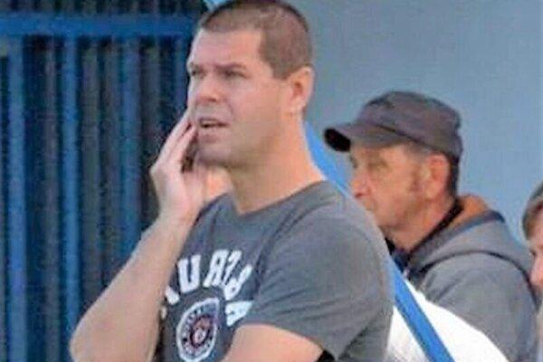 Peter Žabka, dnes už bývalý tréner Žabokriek.